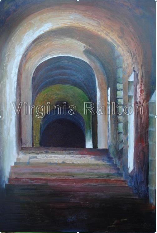 Arches - 30x40 acrylic on canvas
