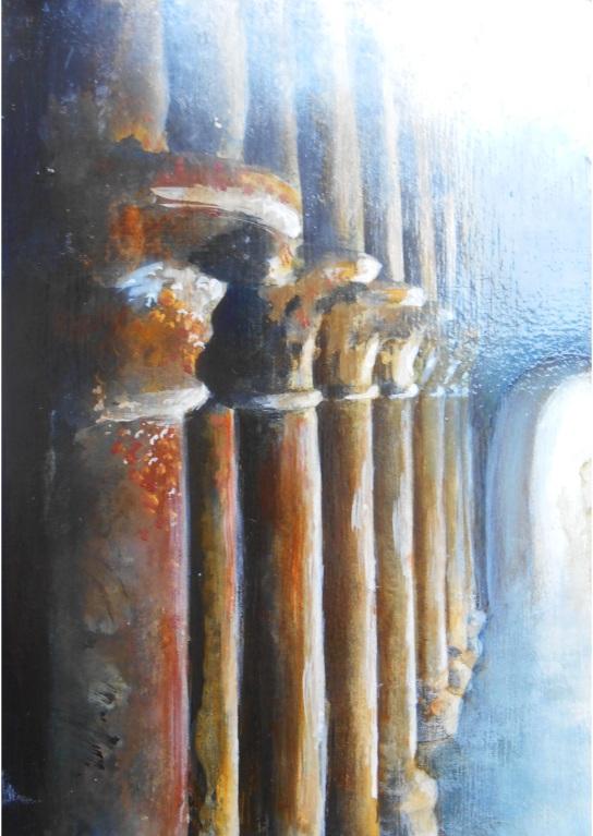 SOLD Columns 3